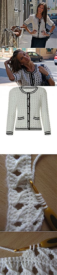 chaqueta de estilo Chanel