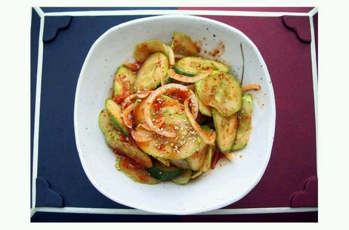 Spicy Korean Cucumber Salad Recipe — Dishmaps