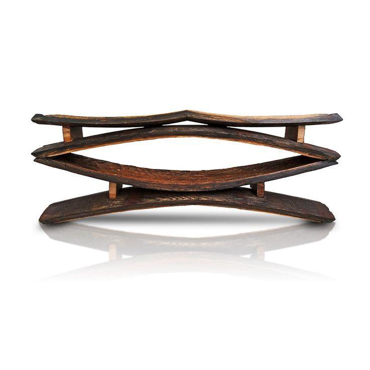 Yoko Oak Barrel Bench • WOO Design