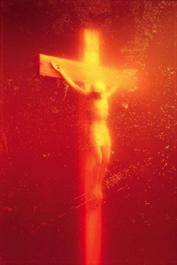Outstanding: Andres Serrano, Immersions (Piss Christ), 1987