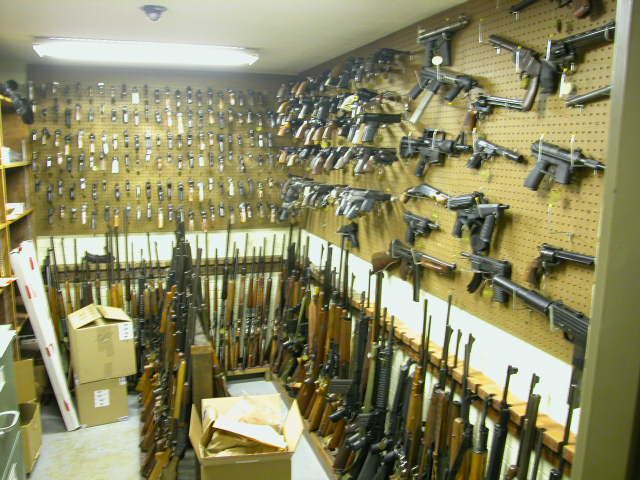 Wonderful Gun Safe Room #6: Gun Room