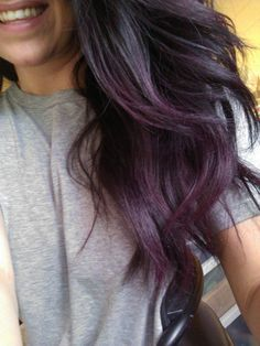 Black Purple Grey Subtle Ombre Google Search Hairstyles And Do S