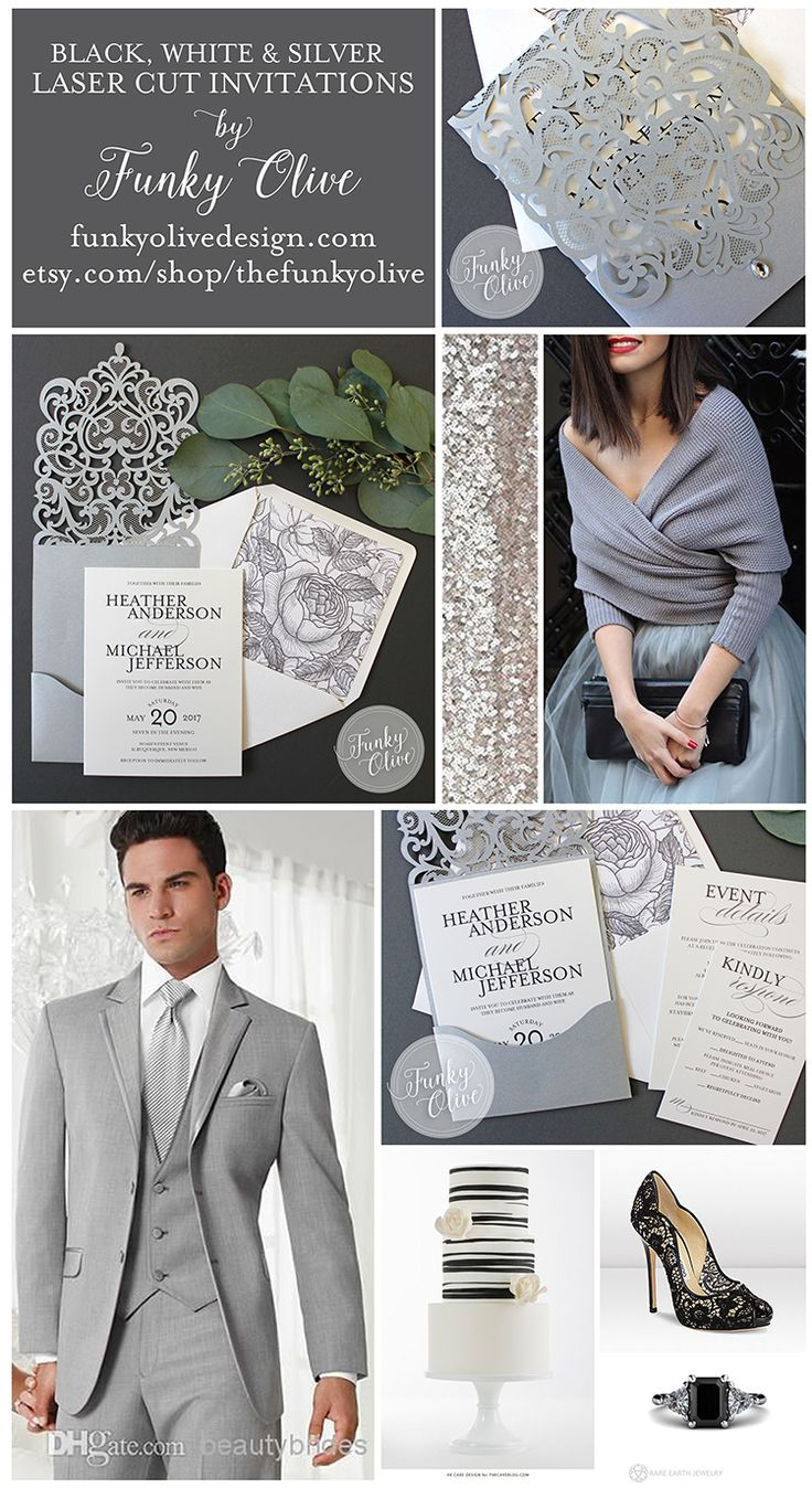 25 best Laser Cut Wedding Invitations images on Pinterest