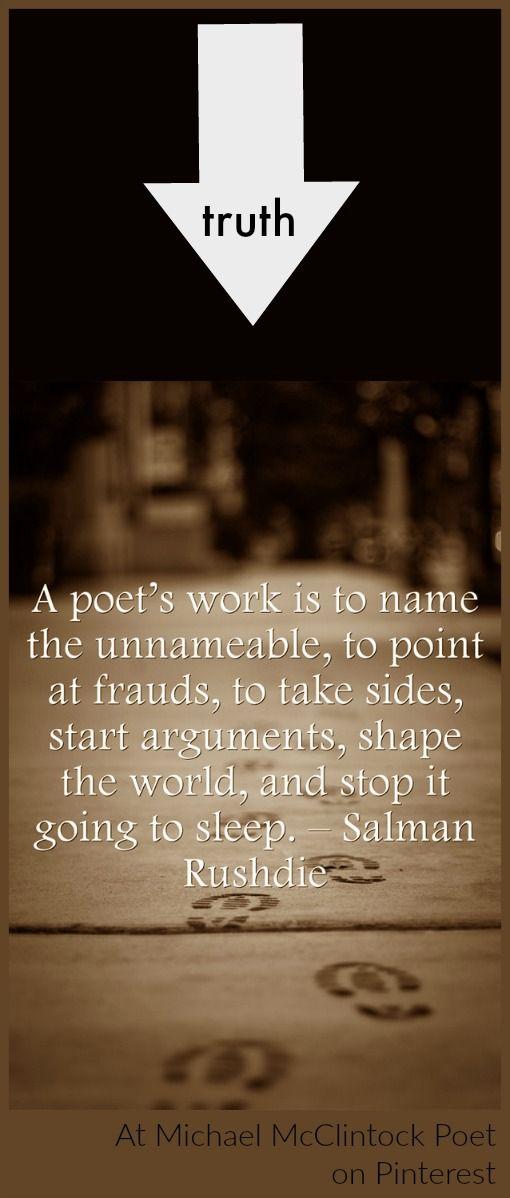 Salman Rushdie quote.