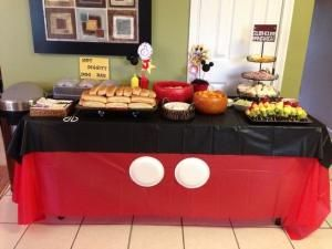 J's Mickey Mouse themed birthday by minerva