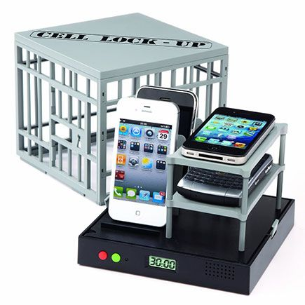 Cell Phone Jail - this would be great for classrooms for when students' cell phones are taken away. :-)