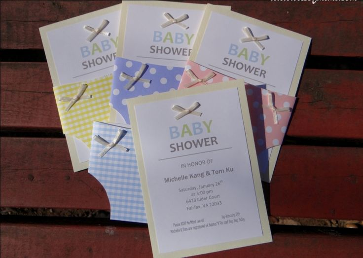 best new diy baby shower invitations easy images on, Baby shower