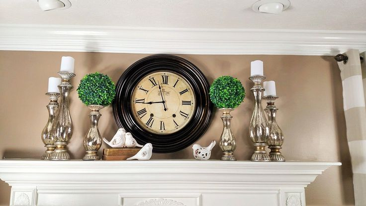3 SIMPLE FIREPLACE MANTLE DECORS