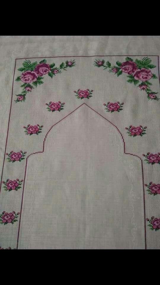 Bordado flor ausência Turk |