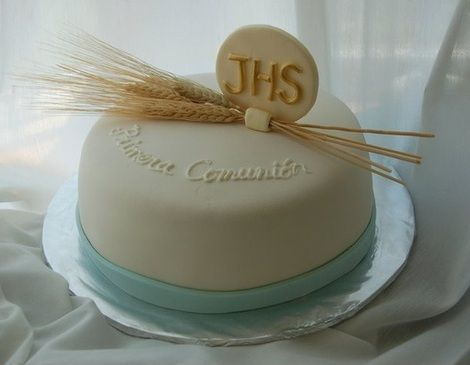 tortas de comunion para varon 2015