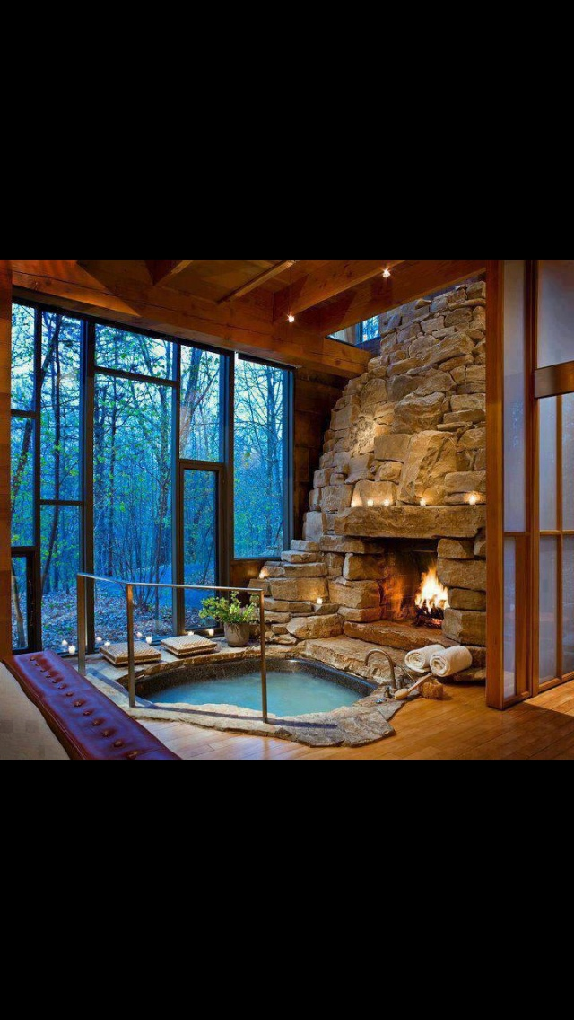 Calgon is going to be losing business when this bathroom gets exposure as I'd be long gone with a bathroom like that...
