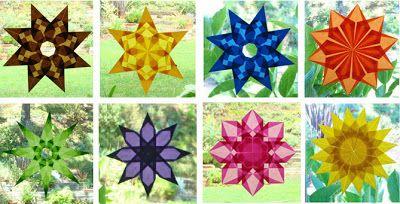 Origami Suncatchers