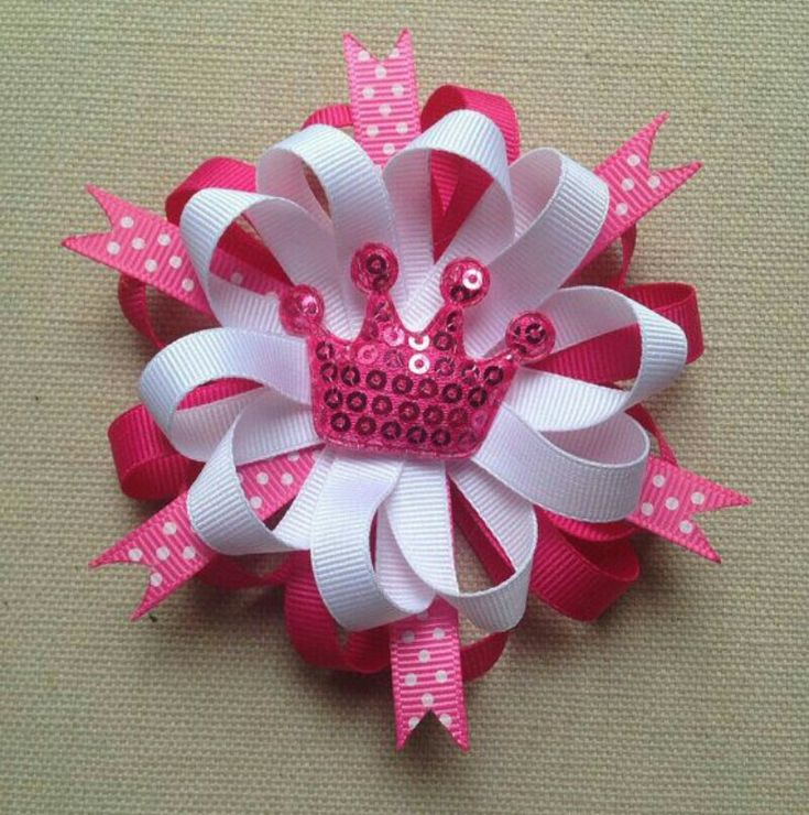 Pink bow to celebrate the birth of a new Princess...congratulations to William and Kate...Welcome to the world little one x