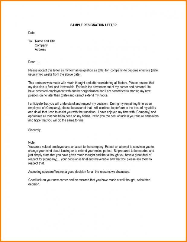 pin by template on template pinterest resignation letter sample resume and resume