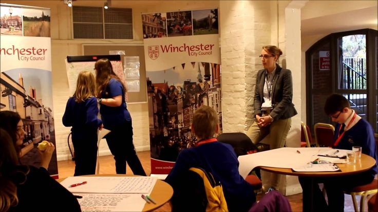 "On Friday 21 November, students from a local Winchester school came to Winchester City Council to ""take over"" jobs for the day. This video shows a small insight into what they got up to."