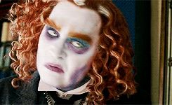 Johnny Depp as The Mad Hatter in new 'Alice Through The Looking Glass' ♛ Johnny Depp ♛