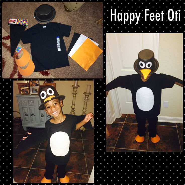 DIY Penguin Costume: Supplies under $10 at Hobby Lobby!