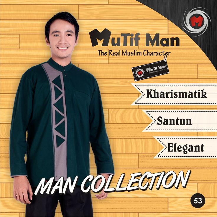 "Koleksi Mutif Man terbaru 2015-2016, No Limit Senzation! :D  Ayo segera dapatkan Koleksi Mutif Man favorit melalui Agen Mutif dan Distributor Mutif terdekat! Cek info alamat lengkap dan nomor teleponnya disini: http://bit.ly/1dOFu0B  Mutif Man, ""The Real Muslim Character"" Mutif, ""Inspiring Style and Beauty, Inspiring The Beauty of Islam"" :)  #BusanaMuslim #Fashion #FashionMuslim #MutifCorp #MutifMan #BajuKoko #MuslimInspiratif  #MuslimIndonesia  www.mutif.co - www.mutif.id"