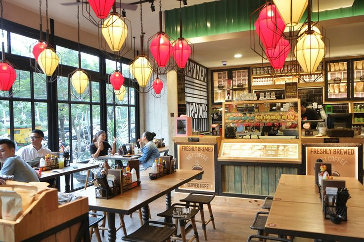vietnamese restaurant interiors - Google Search                                                                                                                                                     More