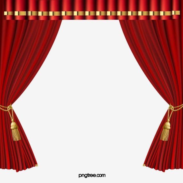 Gambar Tirai Langsir Tirai Tirai Pentas Png Dan Psd Untuk Muat Turun Percuma Tirai Tema Pernikahan Gambar