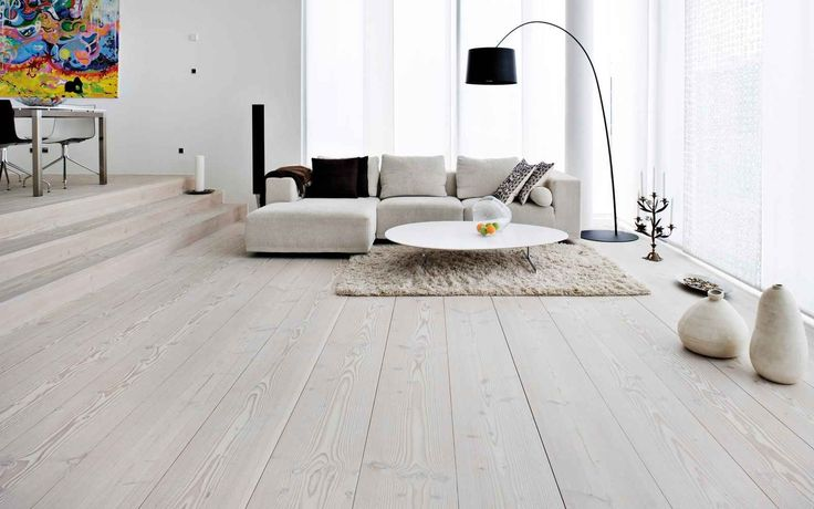 Living room white living room ideas for sleek and clean for Wood flooring ideas for living room