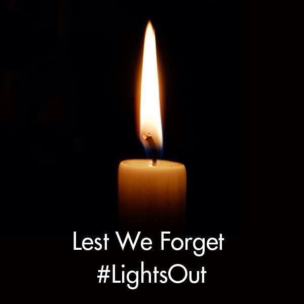 Lights Out - WWI Commemoration