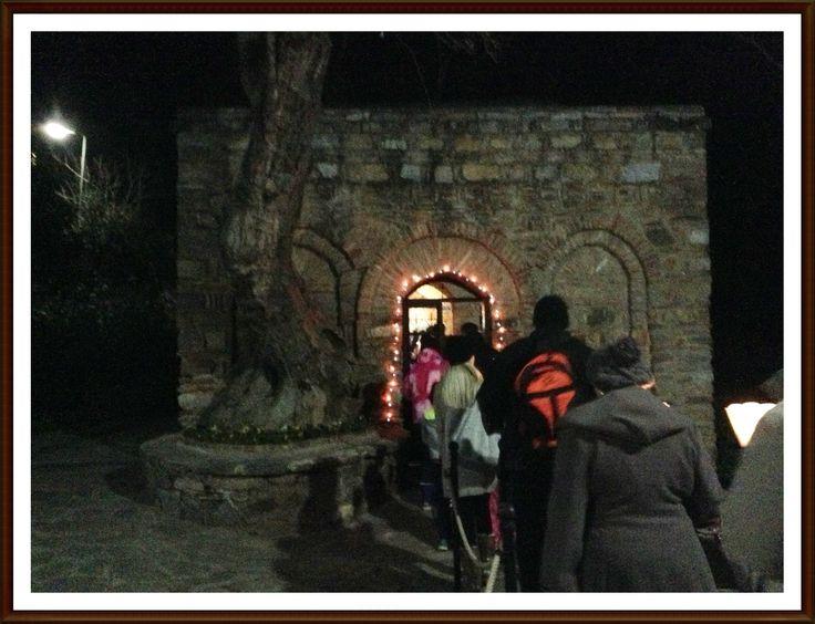 House Of The Virgin Mary Kusadasi - Christmas Carols December 2013