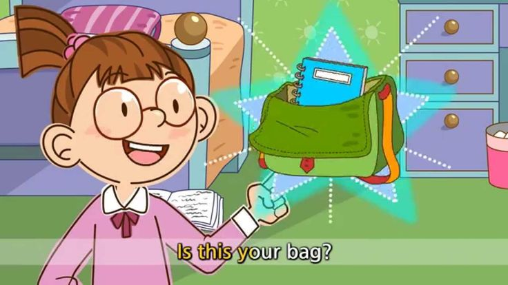 Is this your bag? Yes, it's mine. - Is this your cap? No, it isn't. - En...