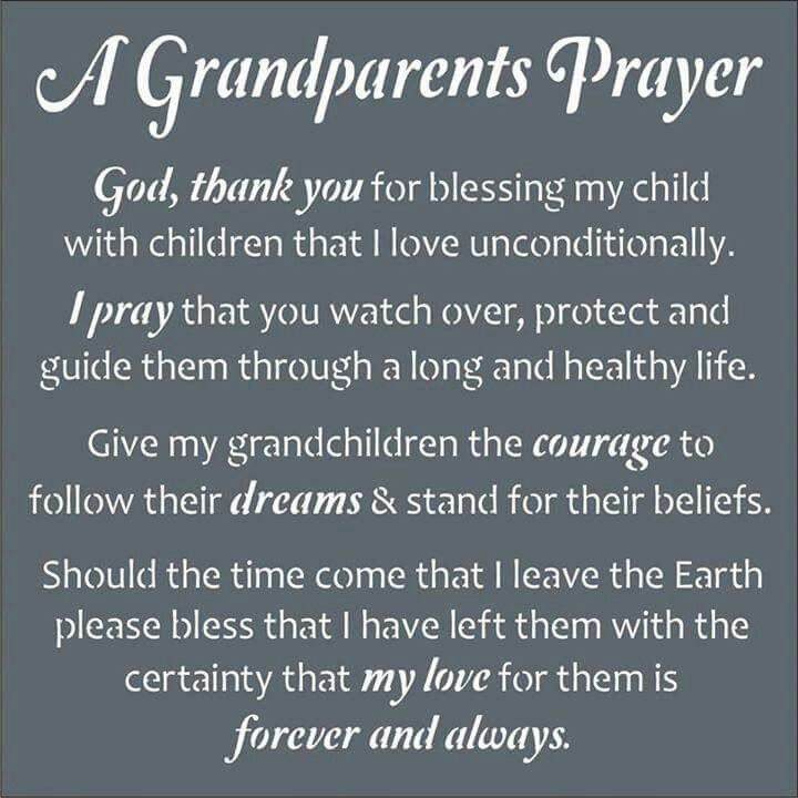 in memory of my dear grandchild