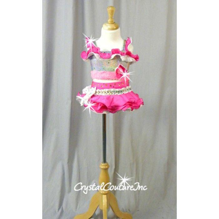 Pink Ruffle Dance Costume
