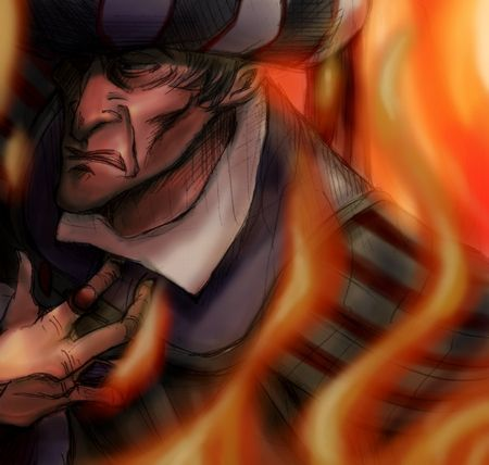 Frollo was just nasty enough and evil enough that you have to...um, despise him? I mean, he just wanted Esmerelda for her body, and he burned half of Paris to find her?! Plus, ew; he's an old man. That fireplace scene was super cool.