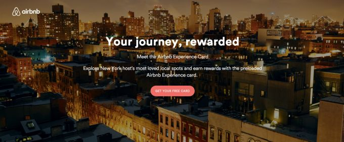 Airbnb Working On Experience Card A Preloaded $1K MasterCard And Rewards Program