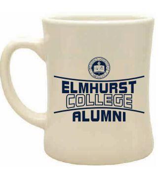 Elmhurst College Luna Diner Mug