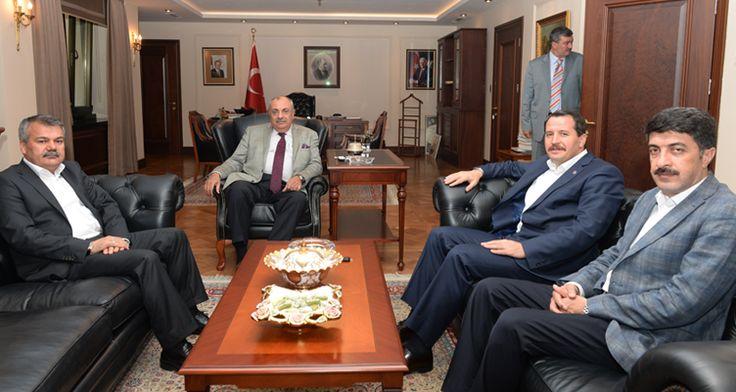 Memur-Sen heyeti, Türkeş ile görüştü