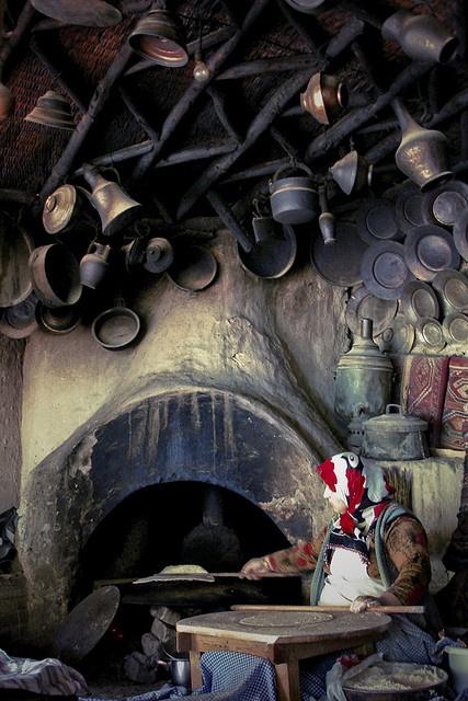 Rural Turkish Kitchen