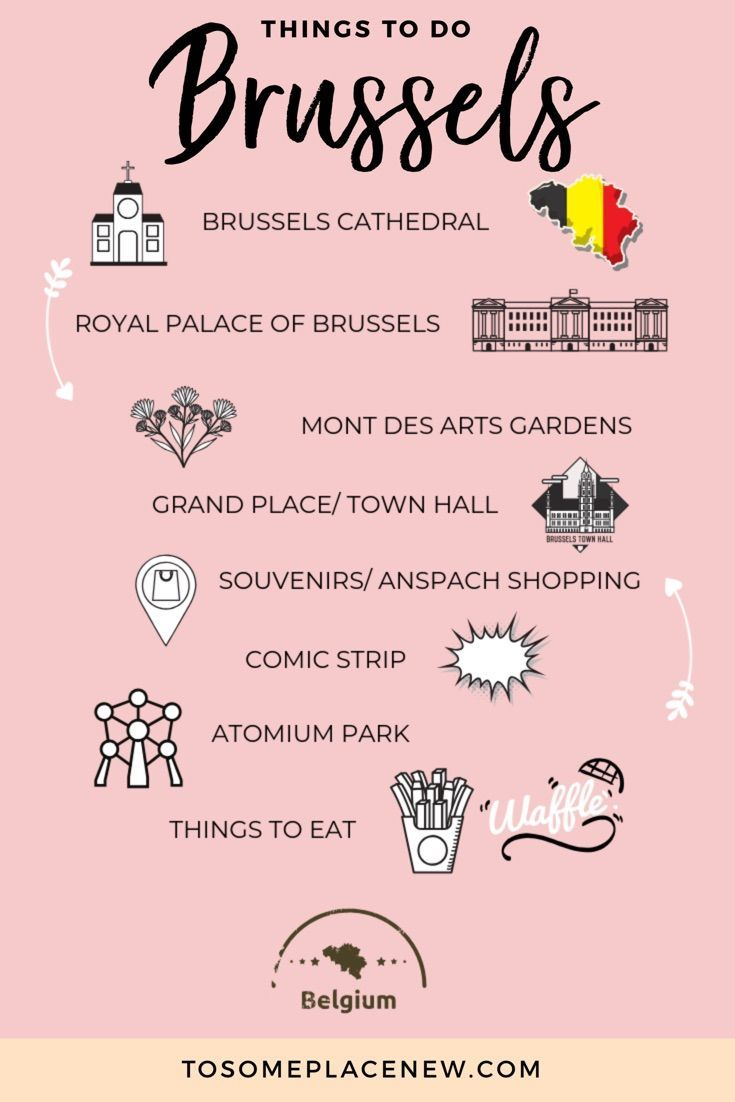 Brussels In One Day Itinerary Best Of Brussels In A Day Brussels Travel Guide Brussels Belgium Travel Brussels Travel