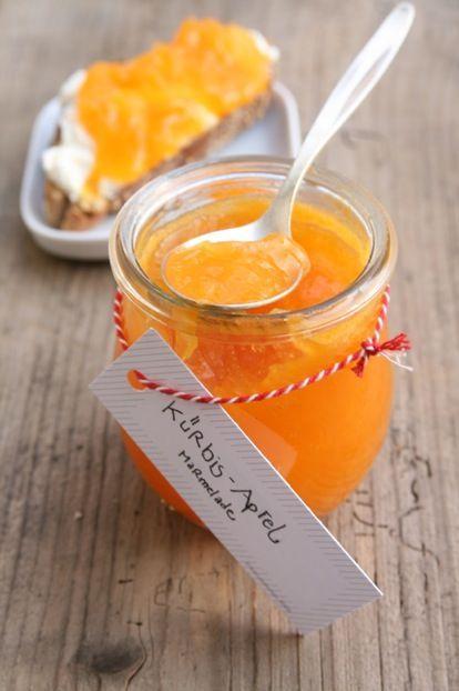 Kürbis Apfel marmelade
