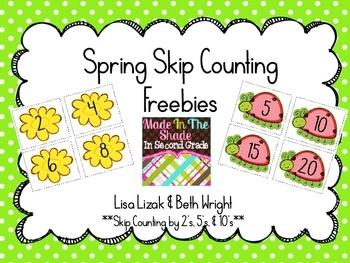 freebie: Math Center, 2Nd Grades, Skip Counting, Cards Freebies, Counting Freebies, Super Cute, Freebies Skip, Classroom Ideas, Activities Ideas