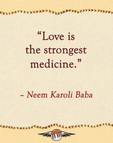 love IS the strongest medicine