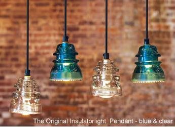 Kitchen lighting!: Ideas, Craft, Pendants, Lighting, Insulator Lights, Pendant Lights, Kitchen, Insulator Pendant, Glass Insulators
