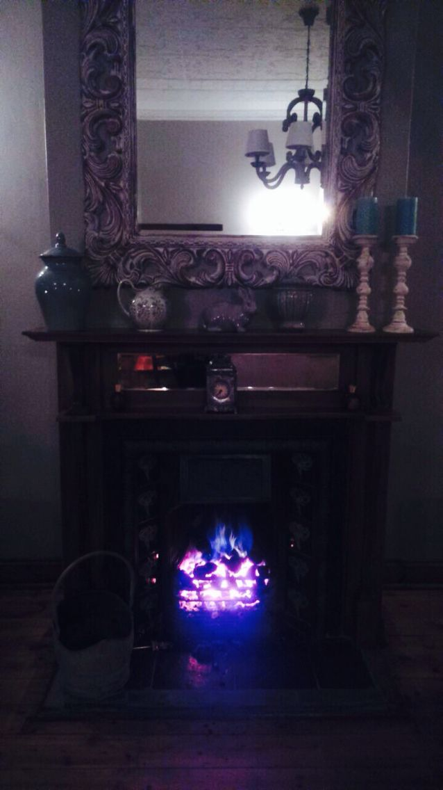 Fireplace; Country Inn, Fouriesburg