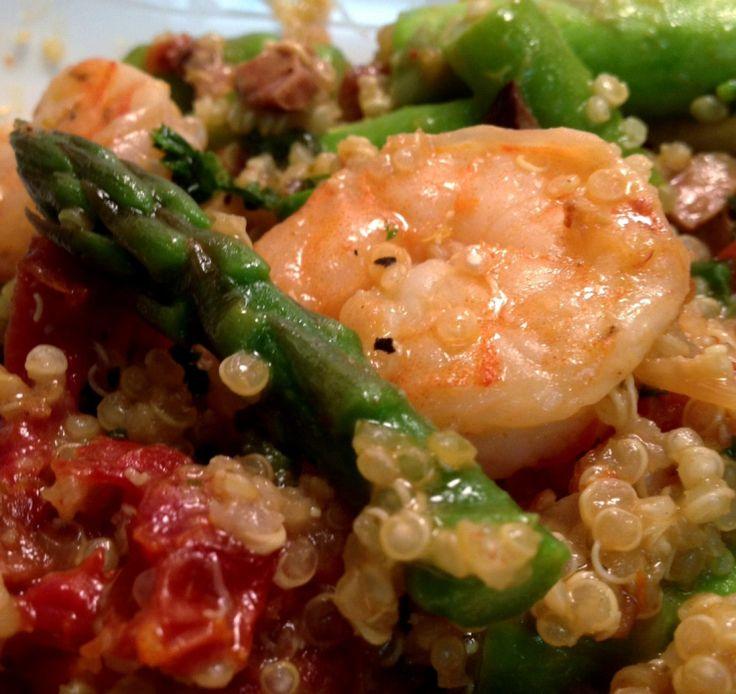 Warm, Shrimp and Asparagus on Pinterest