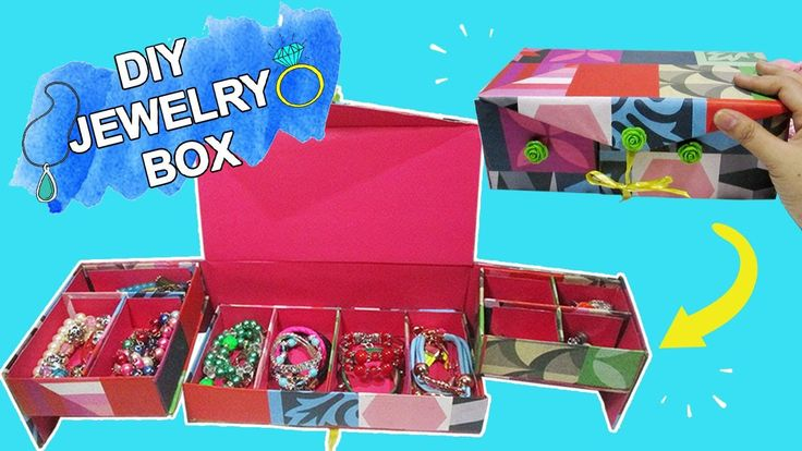 DIY Jewelry Box|How To Make A Jewelry Box, Jewelry Organizer http://cstu.io/4e21e3