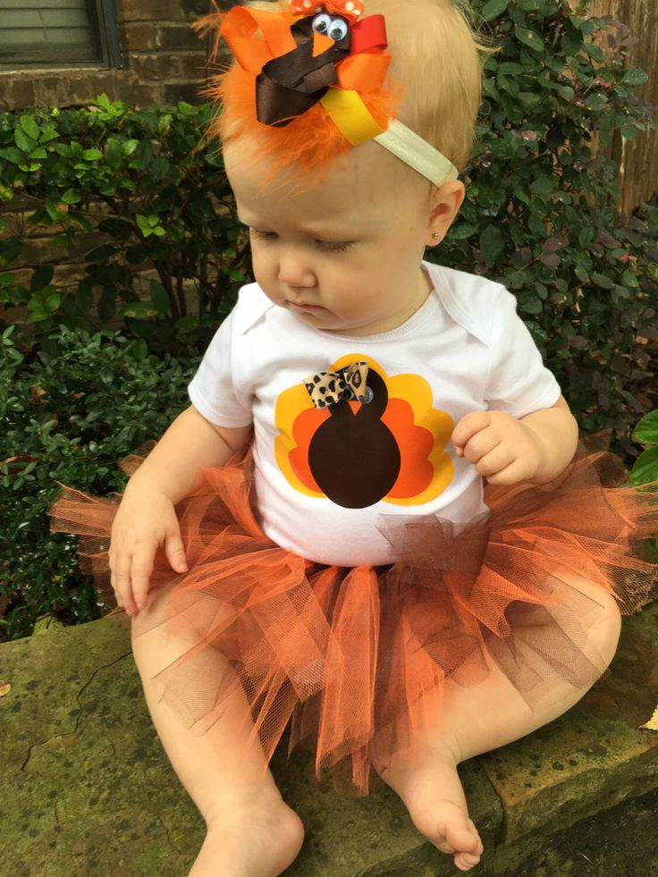 Thanksgiving outfit, Baby girl thanksgiving outfit, Turkey outfit, Baby first Thanksgiving, Baby Thanksgiving outfit, Baby Girl Turkey tutu by Cre8tiveBowtique on Etsy https://www.etsy.com/listing/254464101/thanksgiving-outfit-baby-girl