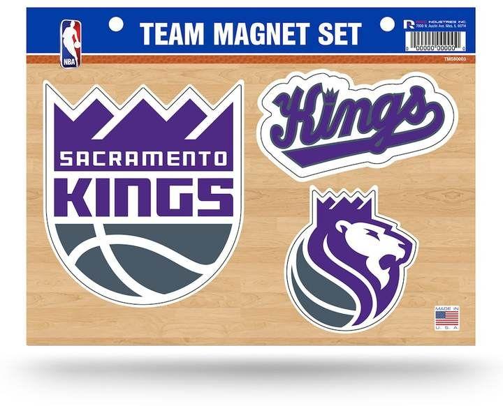 NBA Sacramento Kings Team Magnet Set
