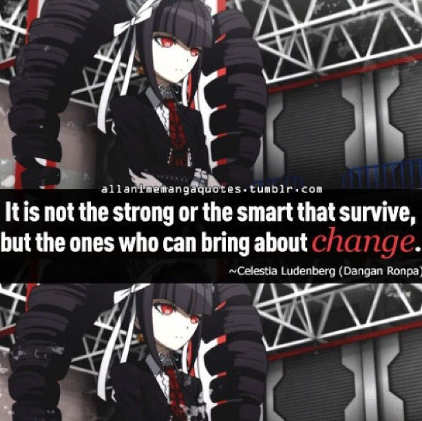 Read ❤Anime Quotes❤ - Quote 143 (Danganronpa) - Wattpad