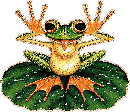 Рисунки лягушек, смешные картинки и анимашки с лягушками