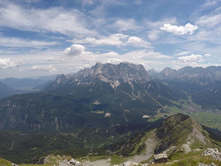 The Zugspitze (Austria) from the Daniel in Leermoos [3000x2250] [OC]