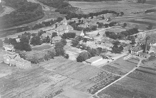 Red Wing Mn Aerial View Of The Training School 1931