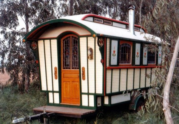Gypsy Wagon ~ This could be so many things ~ from a special retreat to a home away from home ~ or a space for healing work